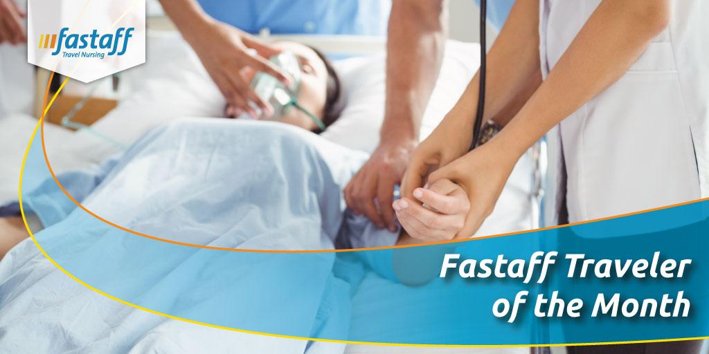 May S Travel Nurse Of The Month Fastaff Travel Nursing