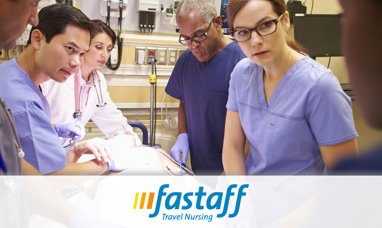 how to become an emergency room nurse fastaff travel nursing