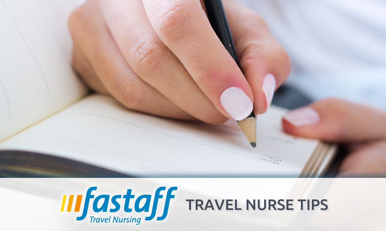 Tips For Writing Quality Nurse Notes Fastaff Travel Nursing